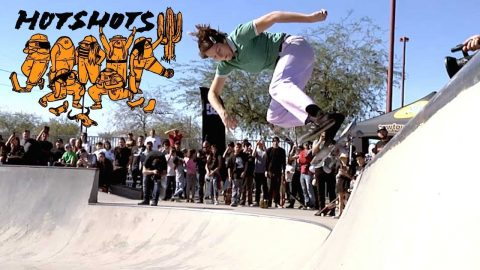 Hotshots Skate Gang: Union Hills Skatepark Demo | Cowtown Skateboards - Mob Grip