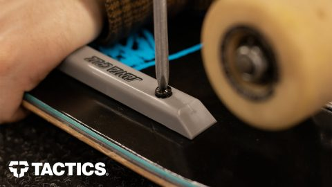 How and Why to Install Skateboard Deck Rails - Tactics | Tactics Boardshop