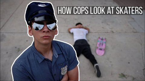 How COPS look at SKATERS - LamontHoltTV