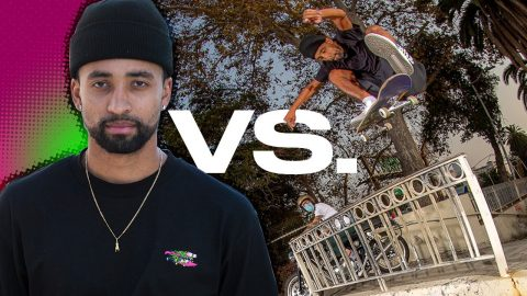 HOW DID MAURIO MCCOY FRONTSIDE FLIP THIS?! Maurio VS. His Ender! Santa Cruz Skateboards | Santa Cruz Skateboards