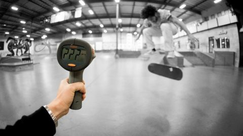 How Fast Can Dylan Witkin Fakie Flip?! - The Berrics