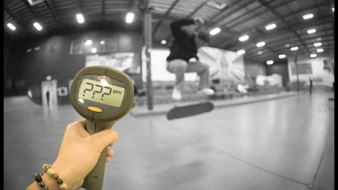 How Fast Can Emmanuel Guzman Fakie Flip?! | The Berrics