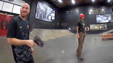 How Fast Can Figgy Nollie Flip?! - The Berrics
