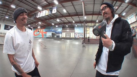 How Fast Can Milton Martinez Frontside Flip?! - The Berrics