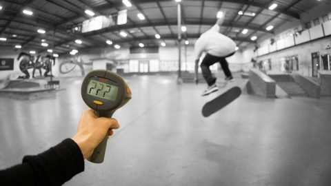 How Fast Can Yoshi Tanenbaum Bigflip?! - The Berrics