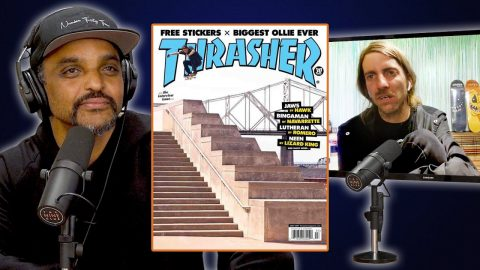 How JAWS Got The Cover Of Thrasher Because Of Andrew Reynolds! | Nine Club Highlights