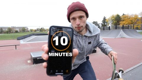 How Many Ledge Tricks can I do in 10 Minutes? | Max Williams