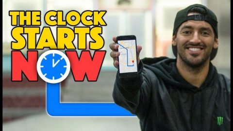 How Many Tricks Can Kelvin Hoefler Do In 18 Minutes? | The Clock Starts NOW | The Berrics