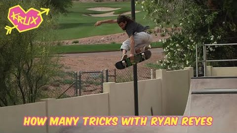 How Many Tricks With RyRey and Those Magic Bushings | Krux Trucks