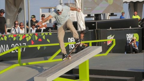 How Roger Silva Won the DewTour AM Series Barcelona - RIDE Channel