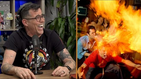How Steve-O Prepares For His Crazy Stunts | Nine Club Highlights