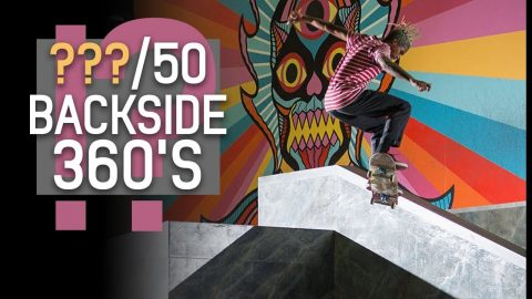How The Hell Did He Do So Many 360's In A Row?! | Chris Pierre | The Berrics