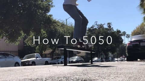 How To 5050 Grind with Spencer Nuzzi | ihatespencernuzzi