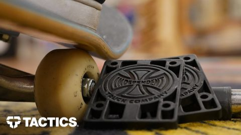 How to Avoid Wheel Bite | Guide to Skateboard Risers - Tactics | Tactics Boardshop