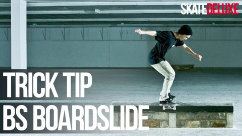 How to Backside Boardslide | Skateboard Trick Tip | skatedeluxe - skatedeluxe
