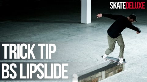 How to Backside Lipslide | Skateboard Trick Tip | skatedeluxe - skatedeluxe