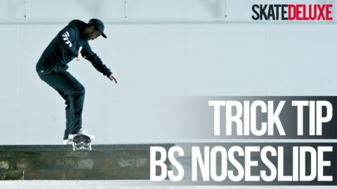 How to Backside Noseslide | Skateboard Trick Tip | skatedeluxe - skatedeluxe