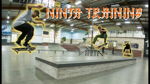 How To Be A Ninja With JP Souza, Marquise Henry & Taylor McClung | Ninja Training | The Berrics