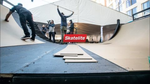 How To Build A Mini Ramp with Danny Way | Skatelite
