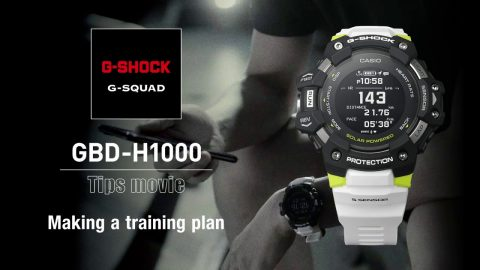 How to create a training plan - GBD-H1000 | G-SQUAD | #NeverGiveUp | gshockeu