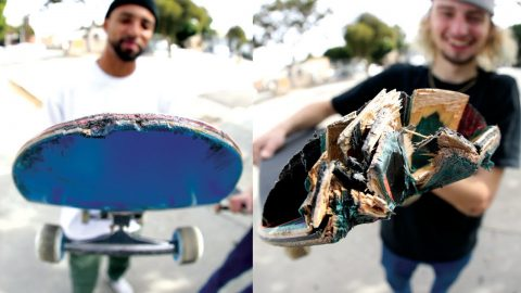 How To Destroy A Skateboard: The Santa Cruz Powerply Wear Test | CCS