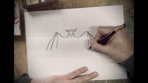How To Draw a Bat with Marcel Dzama | Juxtapoz Magazine