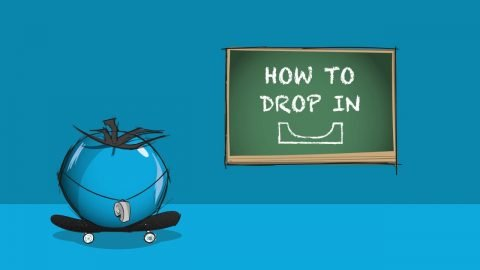 How to Drop In: Skateboarding Miniramp Trick Tip | Blue Tomato | Blue Tomato