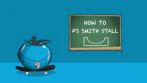 How to FS Smith Stall: Skateboarding Miniramp Trick Tip | Blue Tomato | Blue Tomato