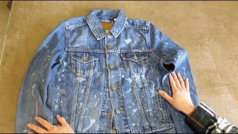 How to Gel Bleach a Jean Jacket⎜Levi's® | Levi's®