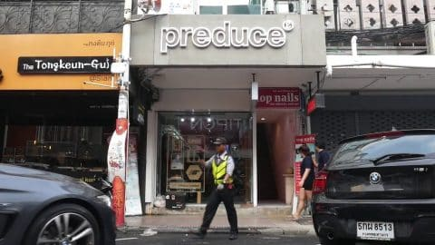 How to get to Preduce Siam shop - preduce skateboards