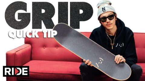 How-To GRIP a Skateboard with Spencer Nuzzi - RIDE Channel