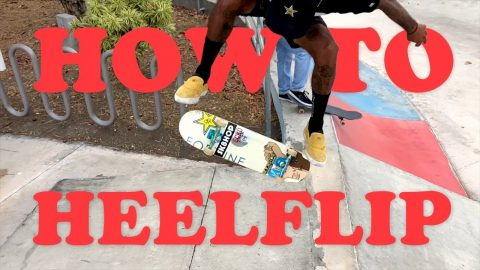 How To Heelflip | MannysWorld