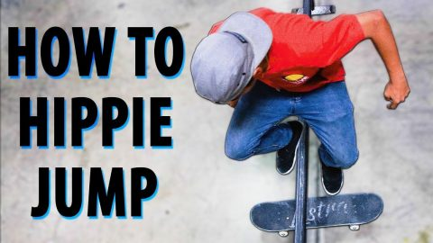 HOW TO HIPPIE JUMP THE EASIEST WAY! | HOW TO SKATEBOARD EP. 11 | Braille Skateboarding
