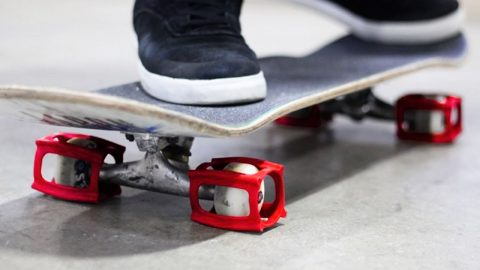 HOW TO KICKFLIP THE EASIEST WAY WITH SKATER TRAINERS - Braille Skateboarding