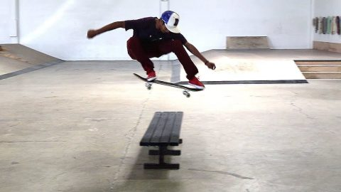HOW TO OLLIE HIGHER THE EASIEST WAY TUTORIAL WITH VINNIE BANH - Braille Skateboarding