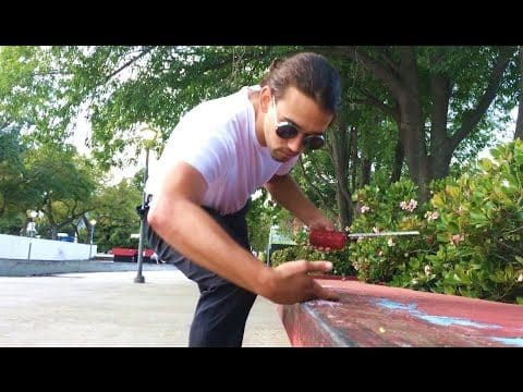 How To Properly Wax A Ledge with Salt Bae, Skate Bae, Slick Bae, Wax Bae - - Metro Skateboarding