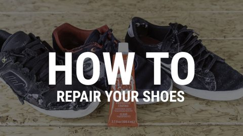 How To Repair Your Skate Shoes- Tactics | Tactics Boardshop