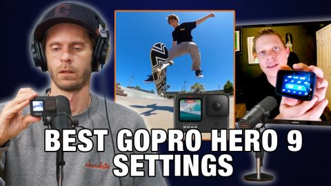 How To Setup Your Gopro Hero 9 (BEST SETTINGS FOR SKATING) - Chris Ray | Nine Club Highlights