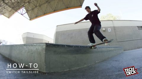 How-To Switch Tailslide With Trent McClung - TransWorld SKATEboarding