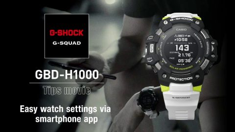 How to to operate the watch via app - GBD-H1000 | G-SQUAD | #NeverGiveUp | gshockeu