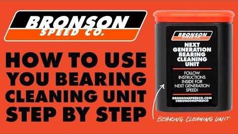 How To Use The Bronson Cleaning Unit w/ Bronson Ron | Bronson Speed Co.