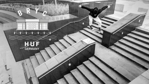 HUF Germany B.R.Y.C. | Pocket Skateboard Magazine
