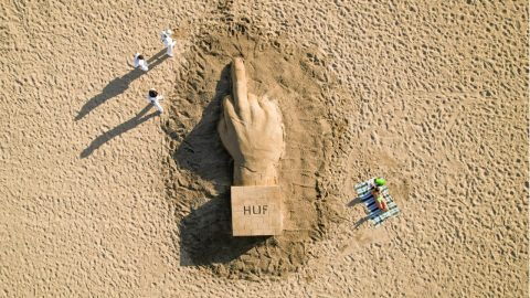 HUF Summer 21 Collection // Sand To The Beach | HUF WORLDWIDE