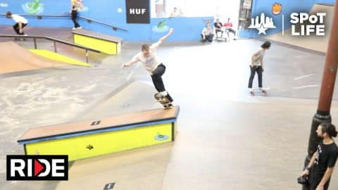 HUF Team in Tampa –Austyn Gillette, Brad Cromer, Jake Anderson –SPoT Life - RIDE Channel