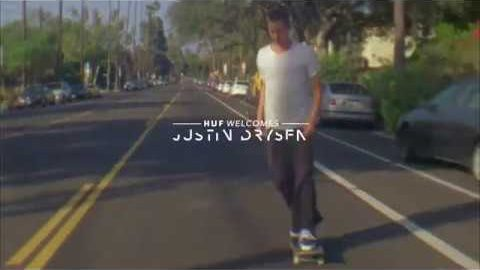 HUF WELCOMES JUSTIN DRYSEN TO THE TEAM | HUF WORLDWIDE