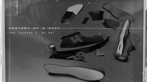 HUF's Hupper 2 - Anatomy Of A Shoe - The Berrics