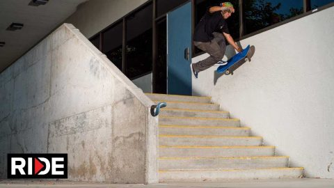 Hugo Lagunas Skate Juice 2 Full Part - RIDE Channel