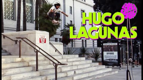 Hugo Lagunas's Part From Skate Juice's 'Truth To Power' | The Berrics
