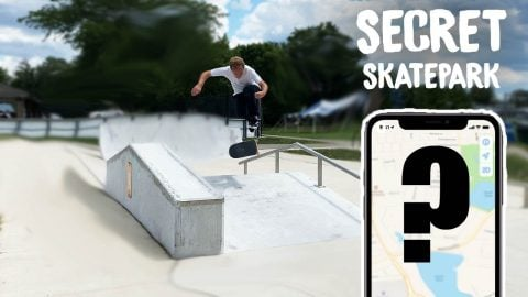 I FOUND A SECRET SKATE PARK (THAT IS NOT ON GOOGLE) | Max Williams