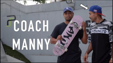 I Hired a Pro Skater as a Coach *Part 2* | Lamont Holt